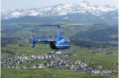 Helikopterflug Sitterdorf - Grosser Alpenrundflug