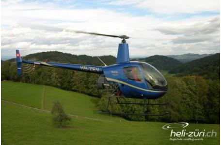 Helikopter Schnupperflug R22, ca. 45 Minuten