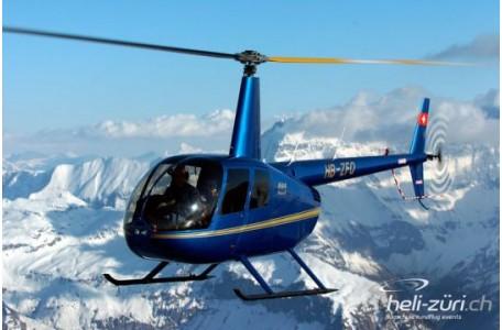 Helikopterflug, RH44, 3 PAX, Sitterdorf, ca. 60 Min.